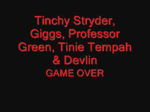 Tinchy Stryder, Giggs, Professor Green, Tinie Tempah & Devlin - Game Over - Mobo Awards 2010