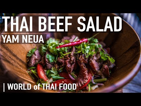 How To Make Thai Spicy Beef Salad - Yam Neua | Authentic Thai Food | Family Recipe #2