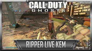 Call of Duty Ghosts: Ripper KEM #15 z komentarzem na żywo (Gameplay pl)