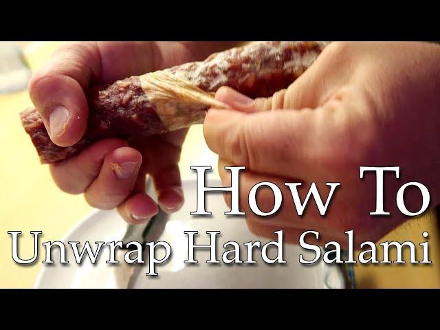Unwrapping Salami