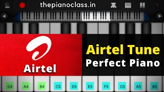 Airtel Tune Piano | A R Rehman | EASY Piano Tutorial | Mobile Piano Tutorial by ThePianoClass