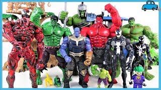 ХАЛК, ЧЕРВОНИЙ ХАЛК SMASH ЙТИ~! Marvel Месники Халк іграшки колекція спеціальний~! Іграшки для дітей - Чарльз іграшка