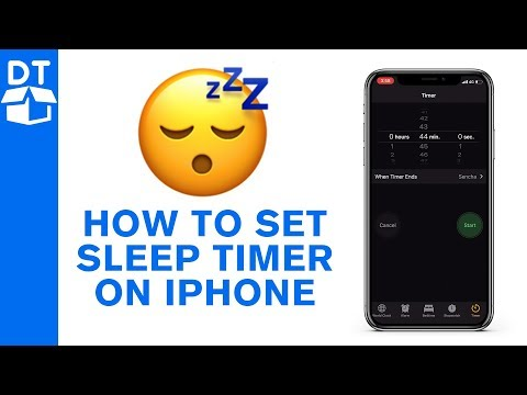 😴How To Set Sleep Timer On IPhone For Youtube Videos & Meditation 😴
