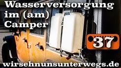 Wasserkanister am Microcamper | AusbauVlog37 | wirsehnunsunterwegs.de
