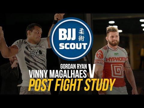 BJJ Scout: Position Study - Leglock Defence featuring Vinny Magalhães , Gordon Ryan, Felipe Pena