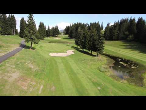 Trou n°8 - Golf Les Gets