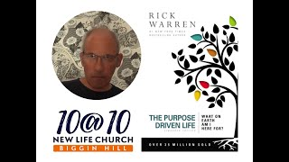 10@10 - The purpose driven life - Day 32 - Steve Cranenburgh