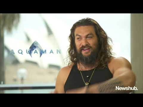 Jason Momoa talks New Zealand, Aquaman | Newshub