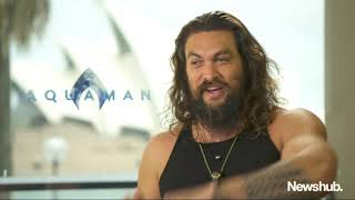 Jason Momoa talks New Zealand, Aquaman | Newshub
