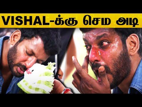 SHOCKING : கண்ணாடி பாட்டில்களால் Vishal-ஐ சரமாரியாக தாக்கிய கும்பல்   Trending News   Latest News HD