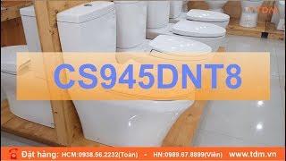 TDM.VN   Giới thiệu bồn cầu TOTO CS945DNT2 CS945DNT3 CS945DNT8 thân C945 giá 4.990.000đ