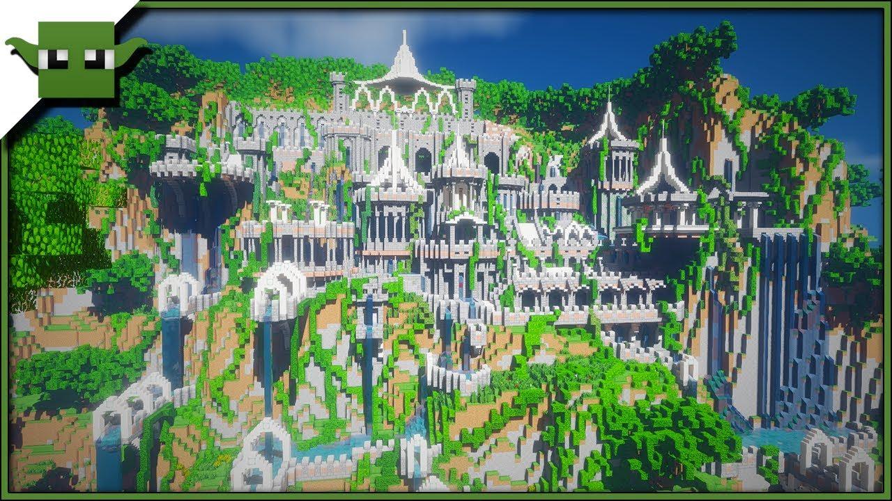 Minecraft Creative Tips Tricks: Minecraft Dwarven Mine Speedbuild Timelapse