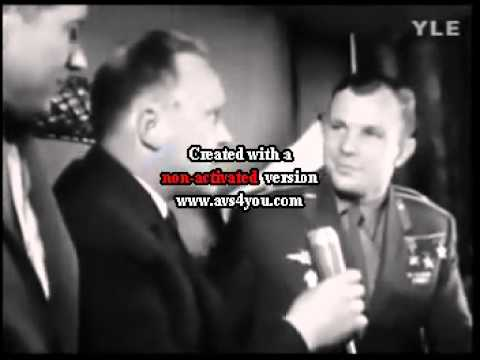 Yuri Gagarin - Rare Interview