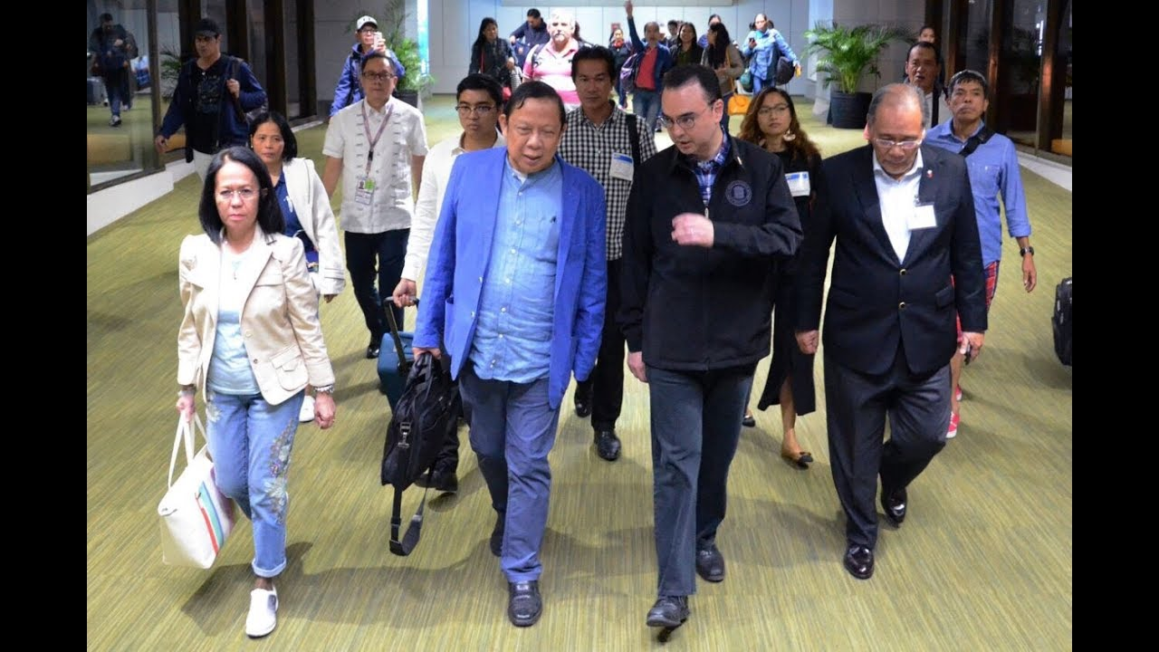 Expelled PH ambassador to Kuwait arrives in Manila