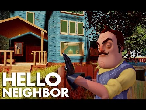 Hello Neighbor - 1 Hour of Gameplay | Gameplay & Trailers from 2016