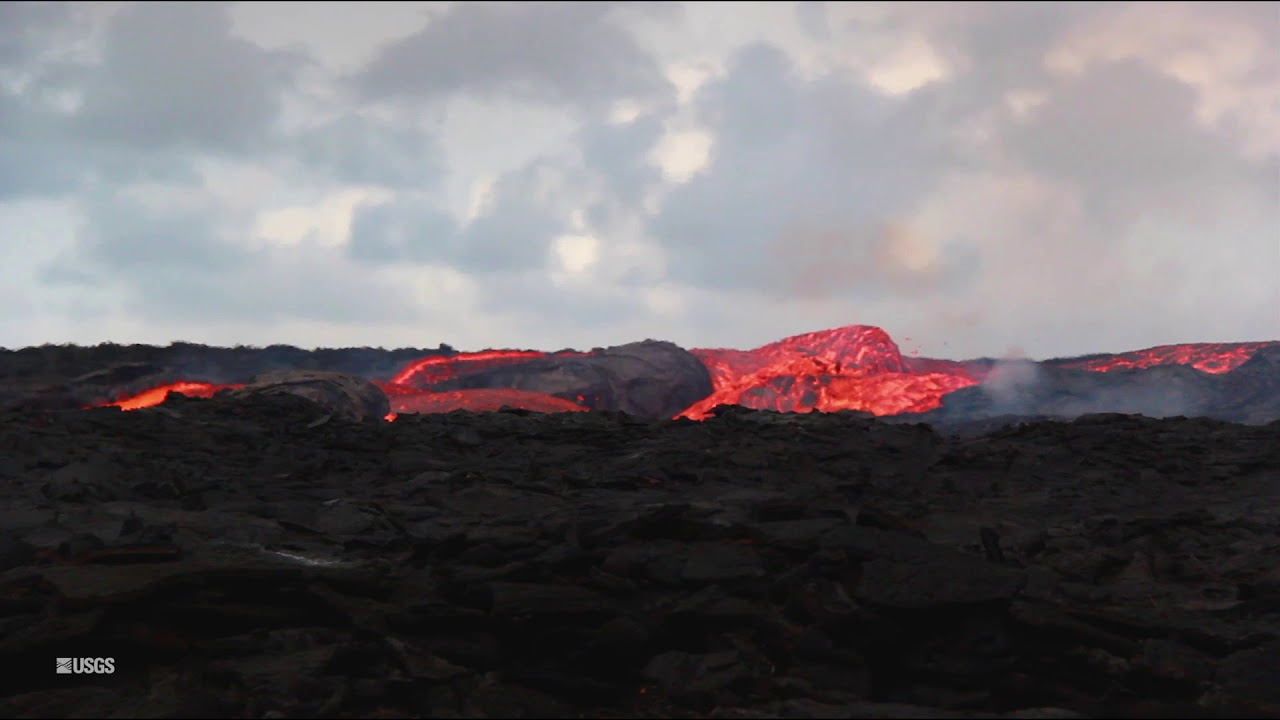 Kīlauea Volcano — Fissure 8