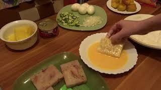 Приготовление домашнего ужина/ Блюда из рыбы