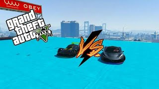 SPEED TEST​  VAGNER VS T20 GTA V ONLINE GAMEPLAY ITA PS4
