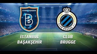 Istanbul Basaksehir FK - Club Brugge KV | Champions League