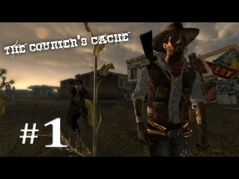 Fallout NV Mods: The Couriers Cache | #1 | And So It Begins |
