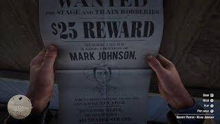 Red Dead Redemption 2 - Bounty 4 - Mark Johnson