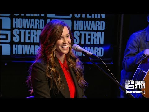 "Alanis Morissette ""You Oughta Know"" On The Howard Stern Show"