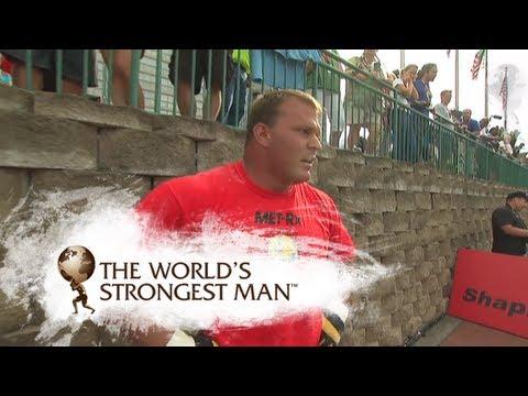 2008 Power Stairs: Heat One | World's Strongest Man