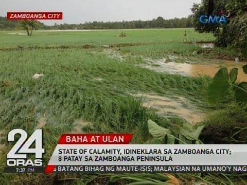State of calamity, idineklara sa Zamboanga City; 8 patay sa Zamboanga Peninsula