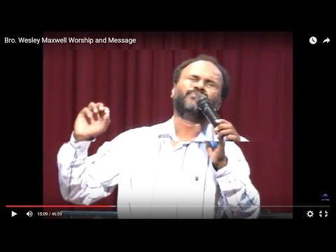 Bro. Wesley Maxwell Tamil christian Worship