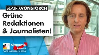 Grüne Meinungsmache in den Medien! - Beatrix von Storch