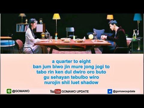 [Karaoke/Instrumental] SUHO feat. JANE JANG - DINNER by GOMAWO [Indo Sub]