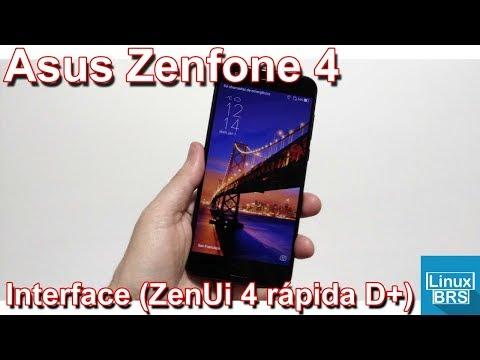 Asus Zenfone 4 - Interface (ZenUI 4 ficou rápida)