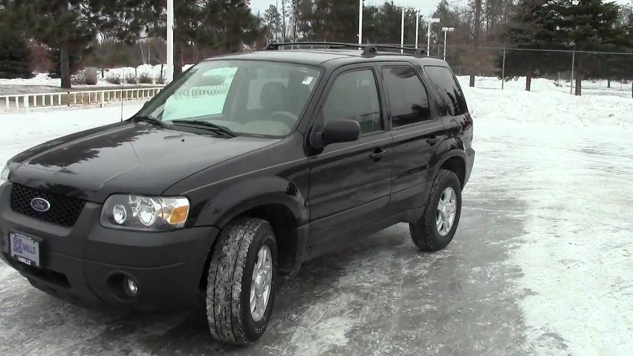 2006 Ford Escape XLT  YouTube