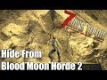 7 Days to Die - Blood Moon Horde 2 - Can You Hide From it with Depth?