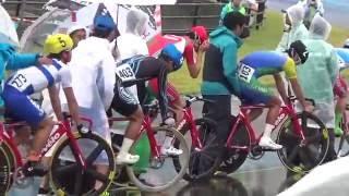自転車競技 岩手国体 成年ポイントレース決勝