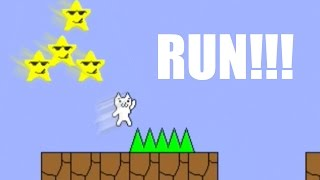 Cat Mario #3 - KILLER STARS!