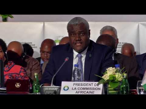 5e Sommet UA-UE: Allocution de Moussa Faki, Président de la Commission de l'Union Africaine