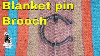Penanular brooch or Blanket pin