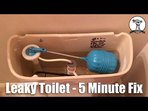 Easy And Quick Leaky Toilet Or Hard To Flush
