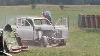 Piaskowanie karoserii auta