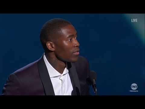 Jamal Crawford   Twyman Stokes Teammate Of The Year Winner   2018 NBA Awards