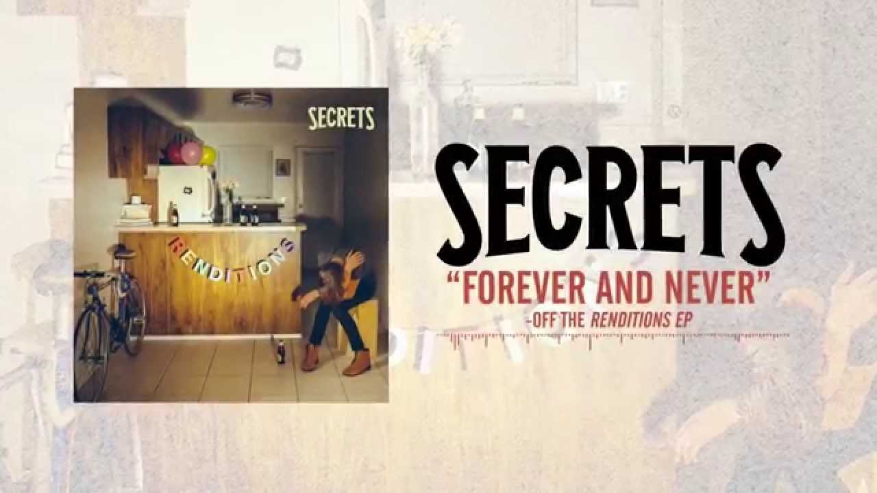 secrets forever and never acoustic chords chordify