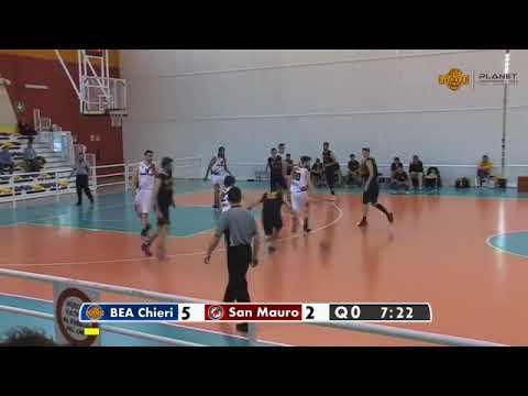 Gara 2 Play -Off Serie D: BEA Leopardi Chieri - L.A. San Mauro Basket