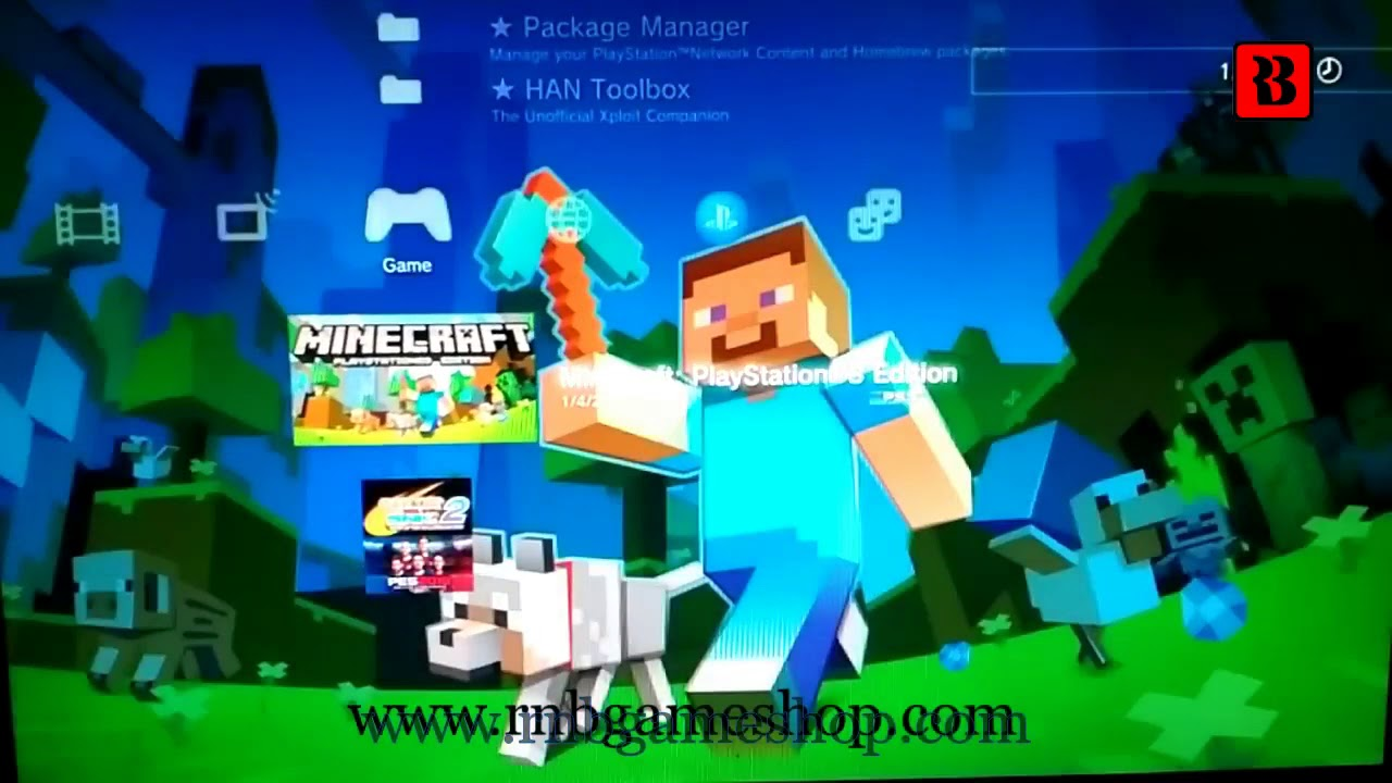 Test Minecraft PS3 Edition PKG PS3 HAN ( LINK )