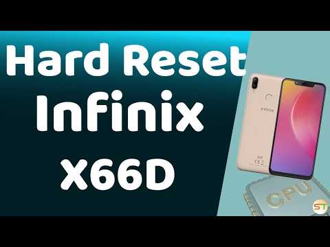 Infinix Hot 6 X608 Hard Reset