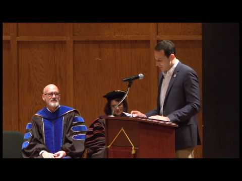 Master's Hooding Ceremony - December 16, 2016