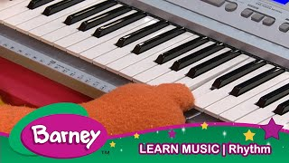 Barney| RHYTHM|Music Learning For Kids