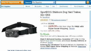 Sportdog Stubborn Dog Yard Trainer Review