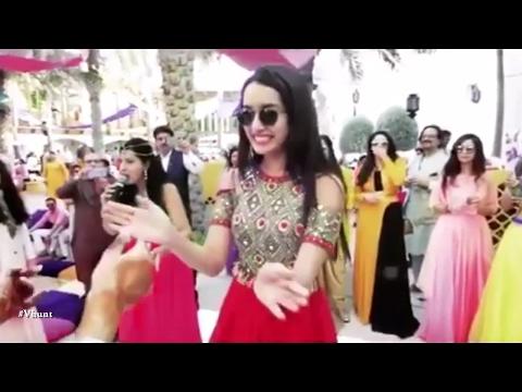 Shraddha Kapoor Dancing At Friend's Wedding | New Bollywood Movies News 2017