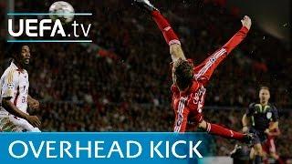 Peter Crouch overhead kick - Liverpool v Galatasaray - 2006/07